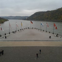 Photo taken at SRS. Goethe, Anleger Koblenz by Irina on 11/24/2013