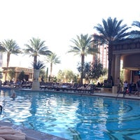 Photo taken at Palazzo Pool by Maria B. on 11/3/2012