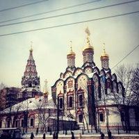 Photo taken at Храм Святителя Николая в Хамовниках by Kirill A. on 1/19/2013