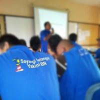 Photo taken at SMK Telok Panglima Garang by Aly Iqram A. on 1/12/2013