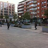 Photo taken at Plaza San Pedro de Deusto by krollian on 1/29/2013