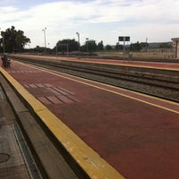 Photo taken at Estación de Talavera de la Reina by krollian on 8/18/2014