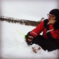 Photo taken at Lapland Safaris by Giacomo R. on 4/3/2015