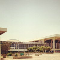 Photo taken at King Fahd International Airport (DMM) by Mohamed S. on 4/7/2013