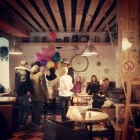Снимок сделан в DRUZI cafe & bar пользователем Aleksandr K. 4/4/2013
