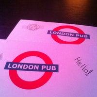 Photo taken at London Pub by Natalya K. on 1/27/2013