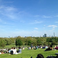 Photo taken at Primrose Hill by Valentina C. on 5/26/2013