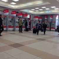 Photo taken at Aeroexpress Terminal at Belorusski Railway Station by Weirdo B. on 5/7/2013
