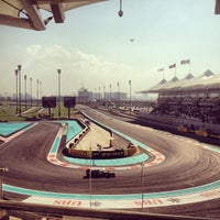 Photo taken at Yas Marina Circuit by 5alboosh A. on 11/3/2012