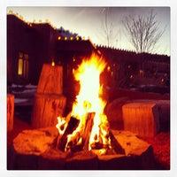 Photo taken at Ojo Caliente Mineral Springs Resort & Spa by Burk J. on 1/9/2013