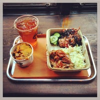 Photo taken at Mighty Quinn's BBQ by Burk J. on 3/9/2013