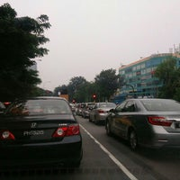 Photo taken at Traffic Light Sunny point and USM junction by Sze Kher on 9/18/2015
