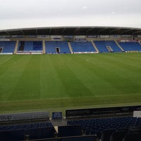 Photo taken at The Proact Stadium by Pete on 11/23/2014