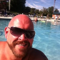 Photo taken at The Pool at The Woods Campground by Jim B. on 7/24/2013