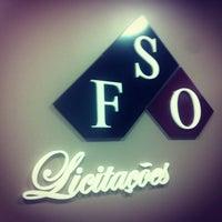 Photo taken at FSO Licitações by Alex F. on 12/21/2012