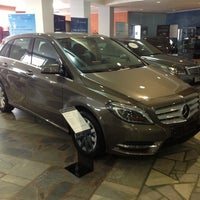 Photo taken at Дельта Центр, Дилер Mercedes by Юлия Р. on 12/1/2012