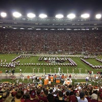 Photo taken at Doak Campbell Stadium by Heather C. on 10/13/2012