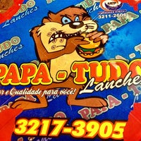 Photo taken at Papa-Tudo Lanches by Thiago H. on 7/2/2013