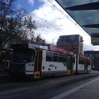 Photo taken at Tram Stop 5 - Melbourne Central (19/57/59) by David 金. on 7/10/2014