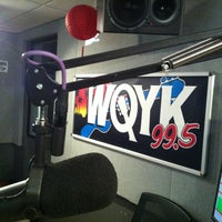 Photo taken at 99.5 WQYK by Shriner W. on 2/28/2013