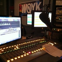 Photo taken at 99.5 WQYK by Shriner W. on 12/28/2012