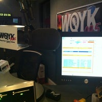 Photo taken at 99.5 WQYK by Shriner W. on 3/27/2013