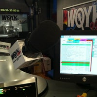 Photo taken at 99.5 WQYK by Shriner W. on 4/1/2013