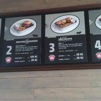 Photo taken at Domyno Burger Bar by Ellie C. on 7/11/2013