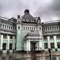 Photo taken at Belorussky Rail Terminal by Maxim B. on 9/15/2013