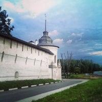 Снимок сделан в Спасо-Преображенский монастырь пользователем Maxim B. 9/2/2013