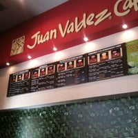 Photo taken at Juan Valdez Café by Chris G. on 12/10/2012
