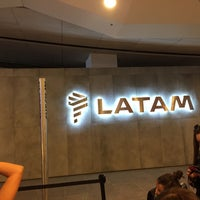Photo taken at LATAM Priority Check-in by Chris G. on 12/23/2016