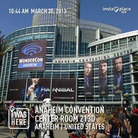 Photo taken at Anaheim Convention Center by Nadia A. on 3/30/2013