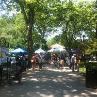 Photo taken at Van Vorst Park by Robert K. on 6/9/2013