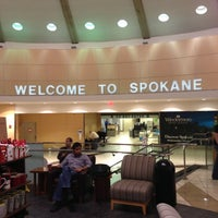 Photo taken at Spokane International Airport (GEG) by Chris H. on 11/19/2012