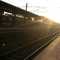 Photo taken at Aulnay-sous-Bois Railway Station by Jerome C. on 4/16/2014