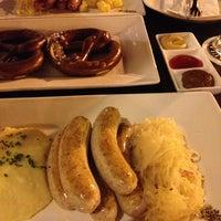 Photo taken at Brotzeit German Bier Bar & Restaurant by Martina M. on 2/24/2013