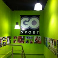 Photo taken at Go Sport, Route de la Marsa by Yal L. on 10/14/2013