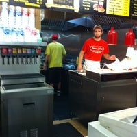 Photo taken at Jimmy John's Pipin' Hot Sandwiches by Elke S. on 9/21/2013