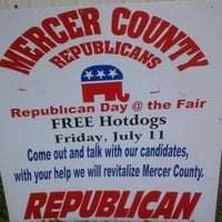 Photo taken at Mercer County Fairgrounds by Chuck G. on 7/11/2014