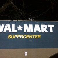 Photo taken at Walmart Supercenter by Chuck G. on 4/20/2013