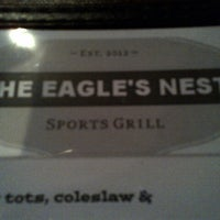 Photo taken at The Eagle's Nest Sports Grill by Chuck G. on 5/11/2013