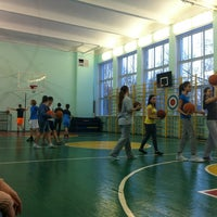 Photo taken at Гимназия № 105 by Dasha O. on 2/5/2013