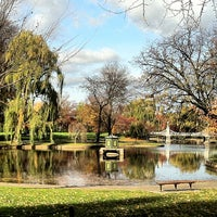 Photo prise au Boston Public Garden par Christopher R. le11/20/2012