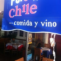 Photo taken at Puro Chile by Carlos T. on 10/18/2012
