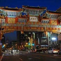 Photo taken at Chinatown Friendship Archway by Steven M. on 10/29/2012