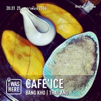 Photo taken at Cafe ice Silom by Songphol P. on 2/25/2013