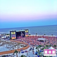 Photo taken at Chevrolet Stage at Hangout Music Fest by MixtapeAtlanta on 5/17/2014