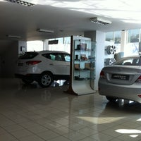 Photo taken at Akbak Hyundai Plaza by Kazım Pala on 3/2/2013