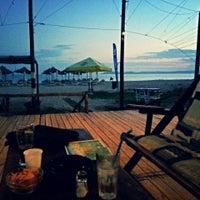 Photo taken at Baracuda Beach Bar by Dejan F. on 7/1/2015